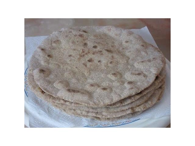 Tam Buğday Bazlaması | Köy Bazlaması | Dürüm Ekmeği | (Whole Wheat Pita )
